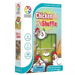 Escondite en la Granja, Chicken Shuffle - juego de lógica para 1 jugador
