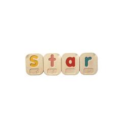 Alfabeto A-Z Braille - mayúsculas y minúsculas