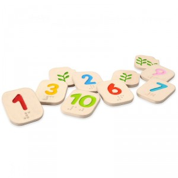 Números 1-10  Braille