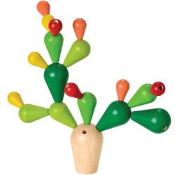 Cactus Equilibrista - Juego de equilibrio de madera
