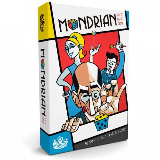 Mondrian - Vanguardista juego de dados para 2-4 jugadores
