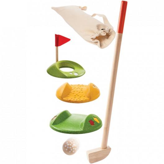 Mini Golf de madera Plantoys- Set para 2 jugadores