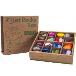 Crayon Rocks - ceras para pintar (64 piedras-32 colores)