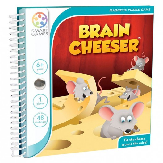 Brain Cheeser- juego magnético de lógica para 1 jugador