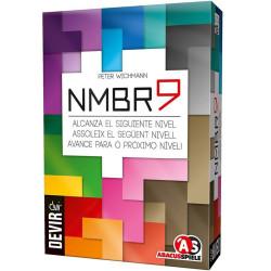 NMBR9 - Juego numérico de cartas para 1-4 jugadores