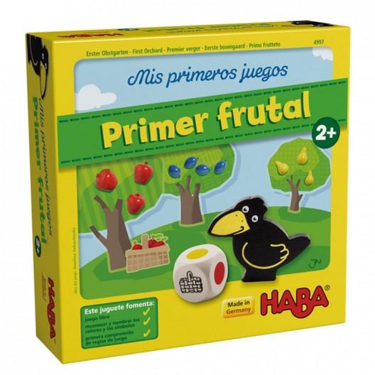 Primer Frutal Mis primeros juegos en español - juego cooperativo para 1- 4 jugadores