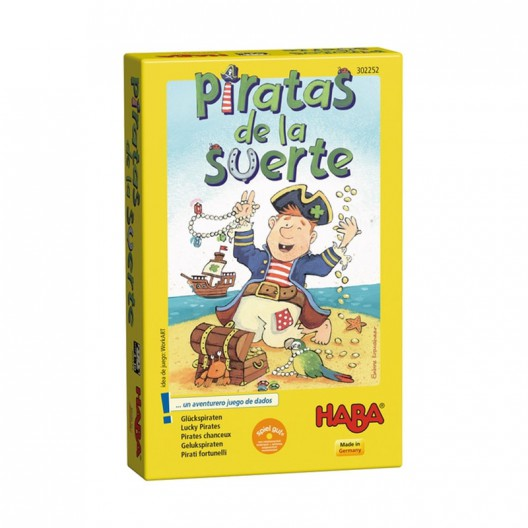 Pirates de la sort - Joc d'atzar amb daus per a 2-4 jugadors
