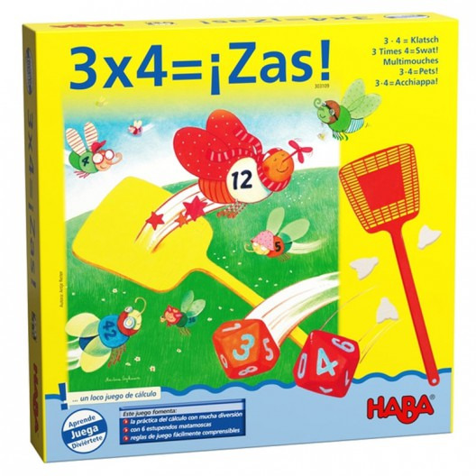 3x4 és Zas - Joc matemàtic de multiplicar