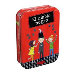 El diablo negro - juego de cartas