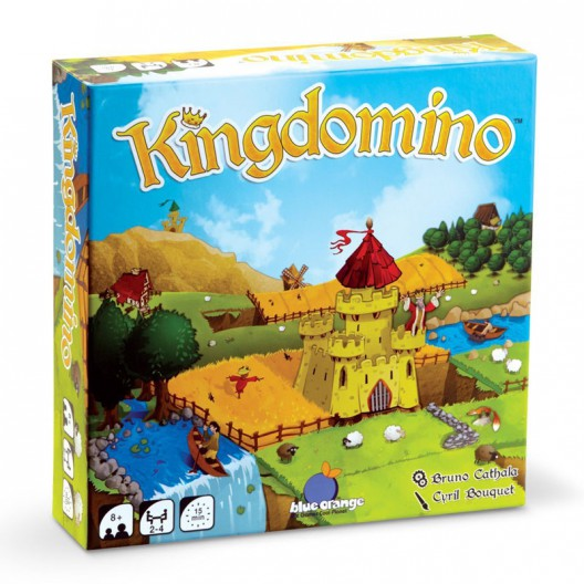 Kingdomino - juego de estrategia de 2 a 4 jugadores