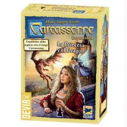 Carcassonne expansión La Princesa y el Dragón ed. 2017 - Juego de estratégia