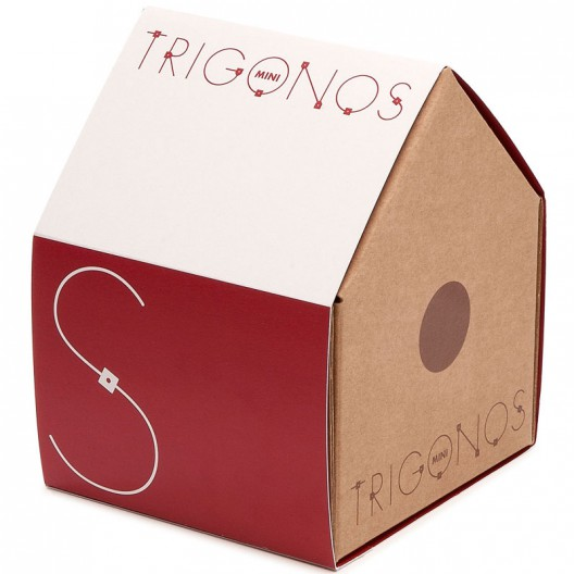Mini Trígonos S 42 piezas - juego de construción creativo
