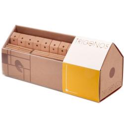 Mini Trígonos L 130 piezas - juego de construción creativo