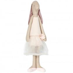 Conejita Bunny Grande Bailarina Rosa - muñeca de tela