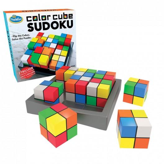 Color Cube Sudoku - Puzzle Sudoku con colores - últimas unidades
