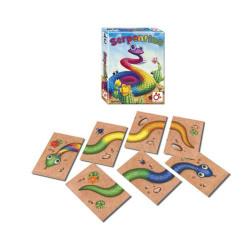 Serpentina - juego de cartas para 2-5 jugadores