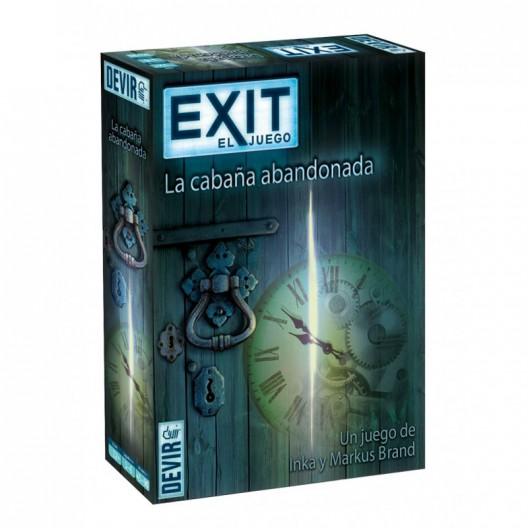 Exit 1: La Cabaña Abandonada - juego cooperativo de escape para 1-4 jugadores