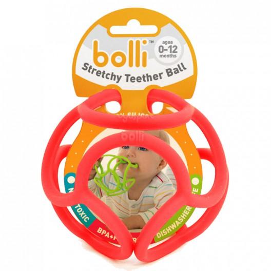 Bolli - bola táctil y sensorial color rojo