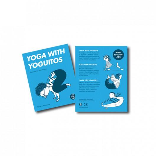 Yoga con Yoguitos - Juego de cartas de yoga