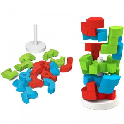 Logic Tower - Rompecabezas 3D en forma de torre