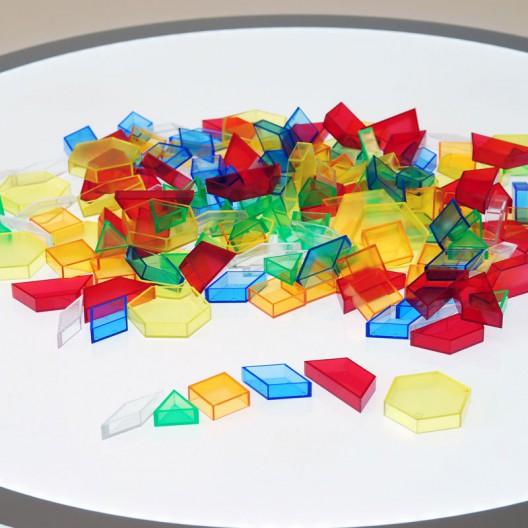 Formas Geométricas Translúcidas Huecas