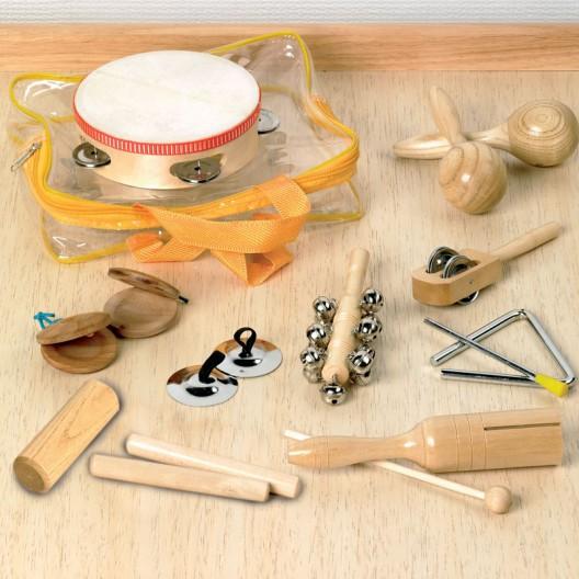 Set Instrumentos de Percusión de madera