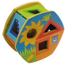 Rotolino - Juego de clasificación de formas de madera