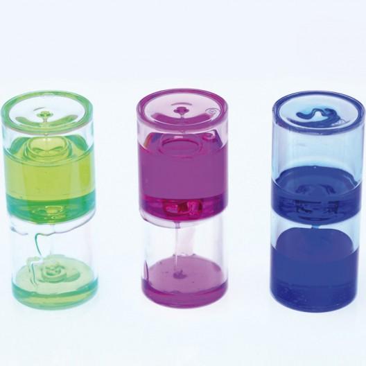 Cilindros Sensoriales con Líquido Espeso