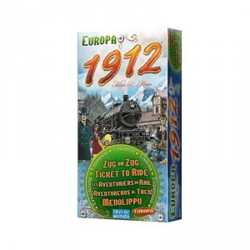 ¡Aventureros al tren! Europa - Expansión 1912 - juego estratégico de tablero