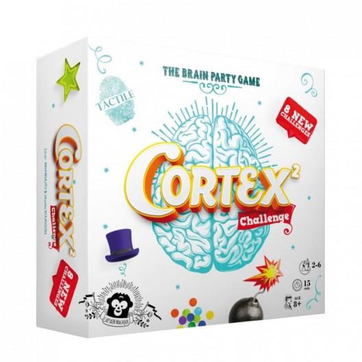 Cortex Challenge 2 blanco - Juego de cartas de habilidad mental y concentración