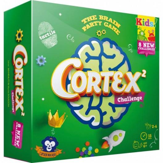 Cortex Challenge Kids 2 verde - Juego de cartas de habilidad mental y concentración