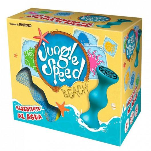 Jungle Speed Beach - juego de cartas y tótem de atención