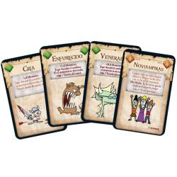 Munchkin - desternillante juego de cartas para 3-6 jugadores