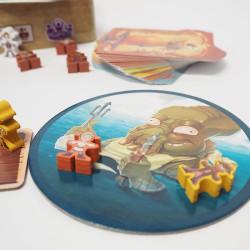 Piratas al Agua Edición Deluxe - juego de cartas de supervivencia para 3-5 jugadores