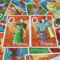 ¡Cobardes! - astuto juego de cartas de intuición para 2 jugadores