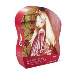 Puzzle de suelo Princesa de Flor - 36 pzas.