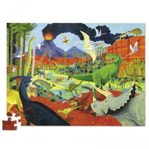 Puzzle Thirty Six Dinosaurios - 100 pzas.