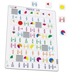Puzle Educativo Larsen 35 piezas - Fracciones y divisiones