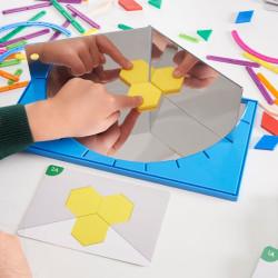 Geoland Junior - Espejo para simetrías y geometría con actividades