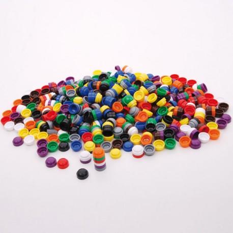 Botones 20 mm encajables para contar - pack 500