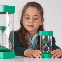 Reloj de arena 1 minuto - verde