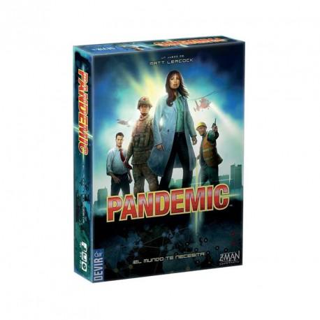 Pandemic - juego cooperativo para 2-4 jugadores