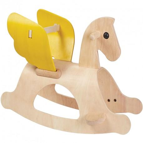 Balancín de madera Pegasus
