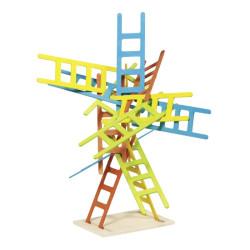 Juego de equilibrio escaleras