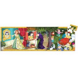 Puzzle silueta Blancanieves - 50 pzas.