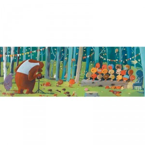Puzzle Gallery Forest Friends - 100 pzas.