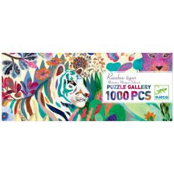 Puzzle gallery Rainbow Tigers - 1000 pzas.