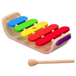 Xilófono ovalado - instrumento musical de madera