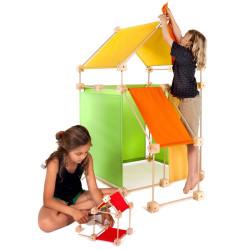 Trígonos Family PCG gama amarillo - juego de construción creativo