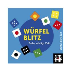 Würfelblitz - juego de rapidez visual con dados para 2-7 jugadores